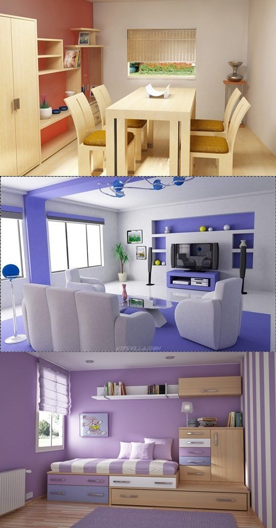 Interior design ideas for small homes - Interior design