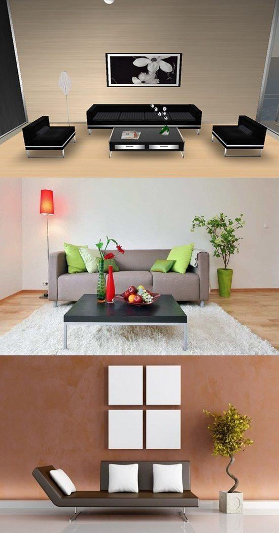 16 Simple Interior Design Ideas For Living Room: Simple Interior Design Living Room