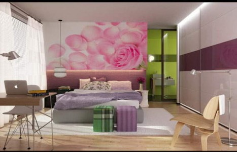 Bedroom interior painting ideas - Interior design