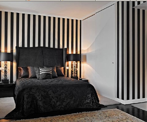 Black And White Interior Design Bedroom Interior Design