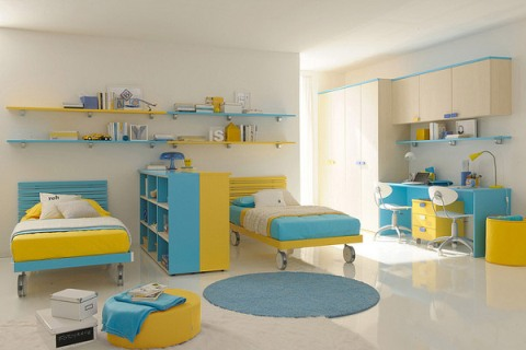 Children s bedroom interior design 10 for Childrens bedroom ideas