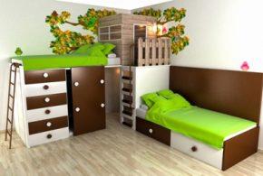 Children's Bedroom Interior Design