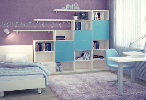 Childrens bedroom interior designgood colorsInterior design