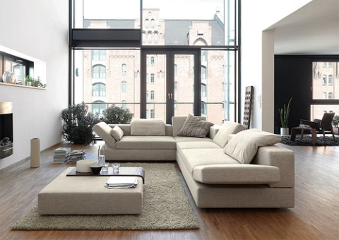 Contemporary living room interior design interior design for Lounge room furniture ideas