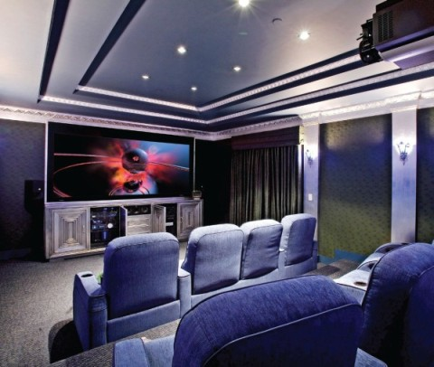 Home Theater Interiors Design Inspiration Home Theater Interior Design  Interior Design Design Decoration