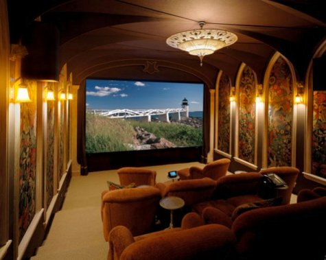 home theater interior design
