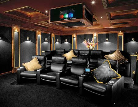 Home theater interior design interior design Modern home theater design ideas