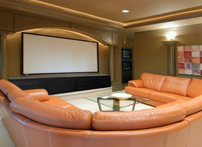 Nice Home Theater Interior Design
