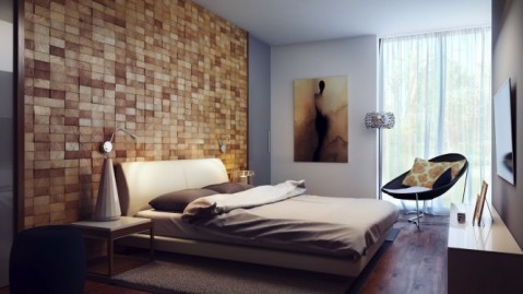Interior design ideas for a modern bedroom interior design for Cn mural designs