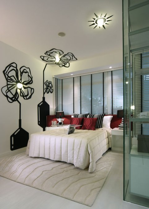 Romantic interior design ideas master bedroom interior for Four bedroom design