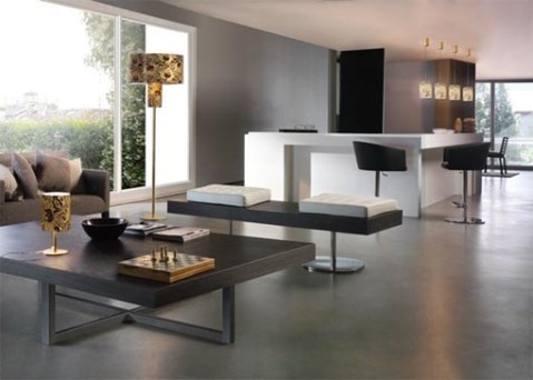 Modern italian interior design 6 for Italian interior design