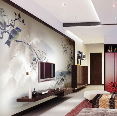 Modern living room interior design ideas interior design - Interior wall designs for living room ...