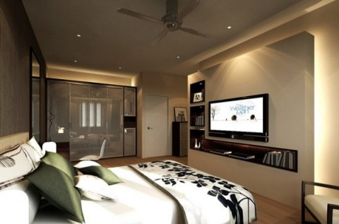 modern master bedroom interior design - interior design