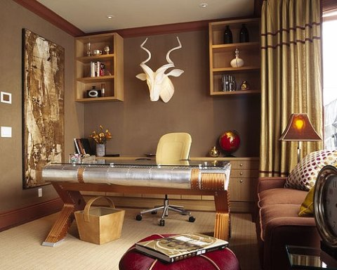 Modern office interior design ideas interior design for Home office interior design ideas