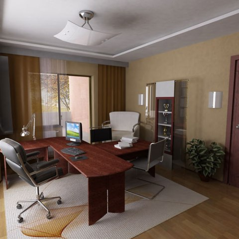 Office interior is a mixture of contemporary design and luxurious - Office Interior Design Concepts Interior Design