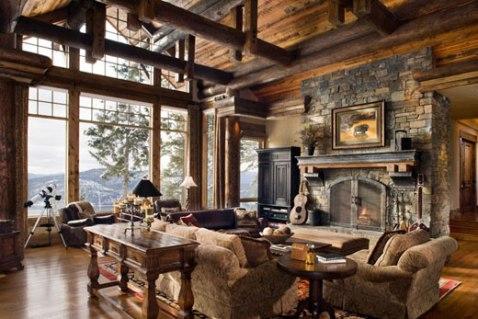 rustic modern interior design