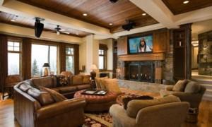 Rustic Modern Interior Design, Rustic Style