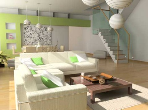 simple interior design living room 11 - Interior design