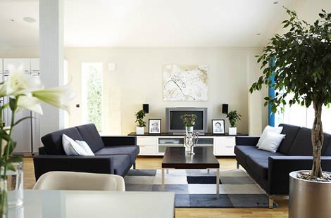Simple interior design living room - Interior design