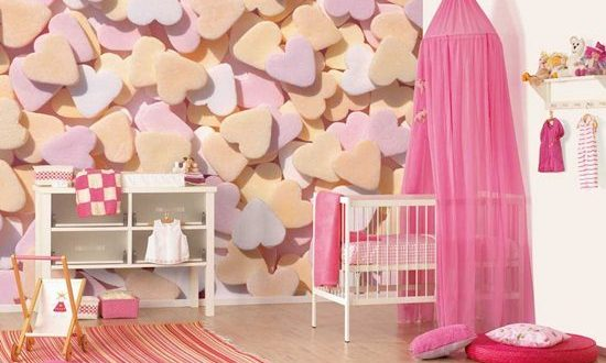 Baby Girls' Nursery Decorating Ideas