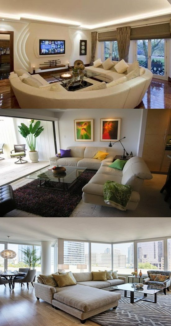 Interior Design For Living Room For Small Space: Condo Living Room Decorating Ideas