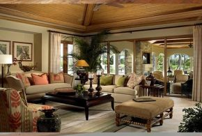 Country home interior design