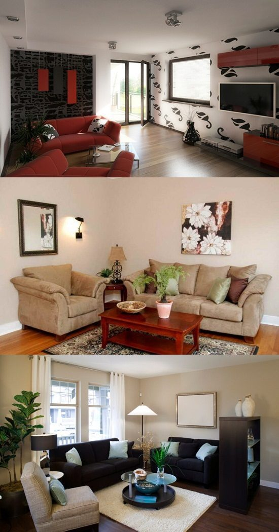 Designing a Small living room – Small home interior design ...