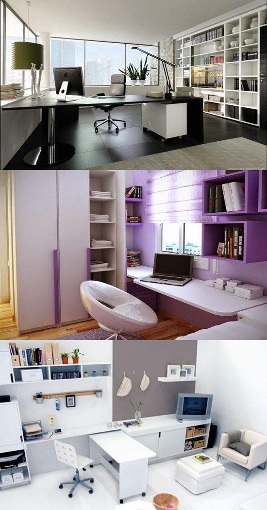 home office interior design ideas interior design. Black Bedroom Furniture Sets. Home Design Ideas