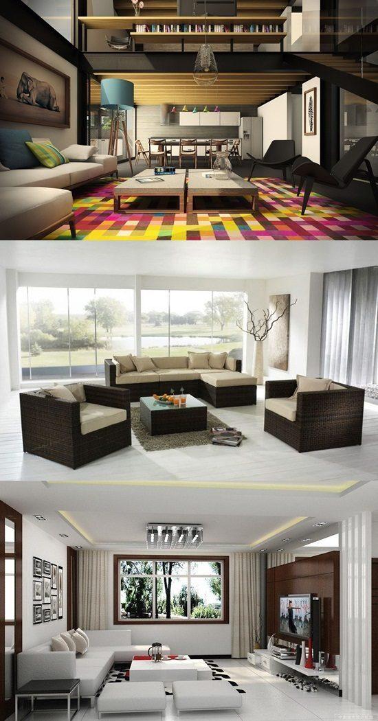 Interior Design Living Room, Living Room Simply