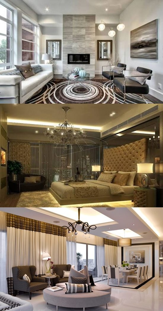 Modern Interior Design Is Based On Iranian Architecture: Modern Classic Interior Design