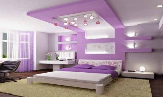 Purple Bedroom Decorating Ideas Impressive Purple Bedroom Decorating Ideas  Interior Design Review