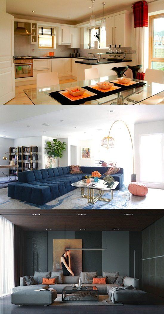 Interior Design 4 Tier Tension Pole Caddy: Show Home Interior Design, Budget, Designers