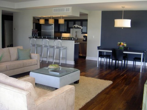 Condo living room decorating ideas interior design for Condo interior design photos