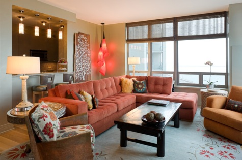 Condo living room decorating ideas interior design for Programmi interior design
