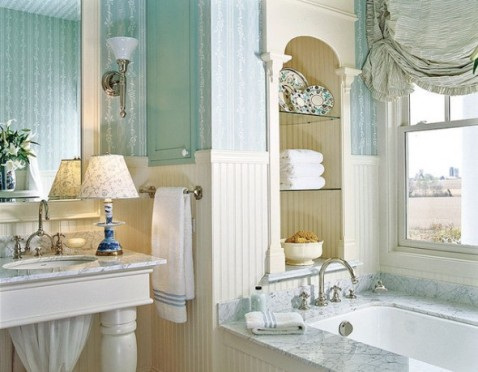 Country bathroom decorating ideas interior design for Country bathroom ideas