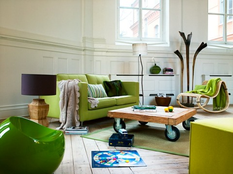 Living Room Decorating Ideas Green And Brown green and brown living room decor - interior design