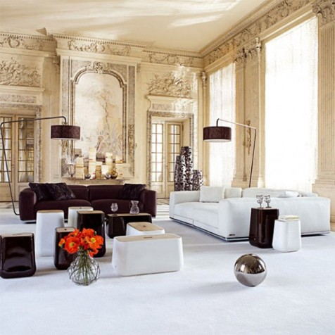 French modern interior design interior design for Traditional art deco interior design