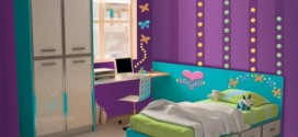 girls purple bedroom decorating ideas 2