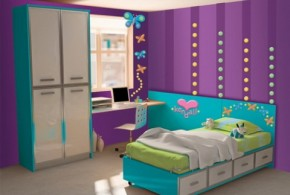 Girls' Purple Bedroom Decorating Ideas