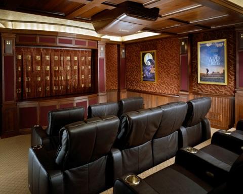 Home Theater Interiors : Home Theater Design Ideas - Interior design