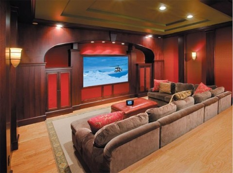 Home theater design ideas interior design Interior design ideas home theater