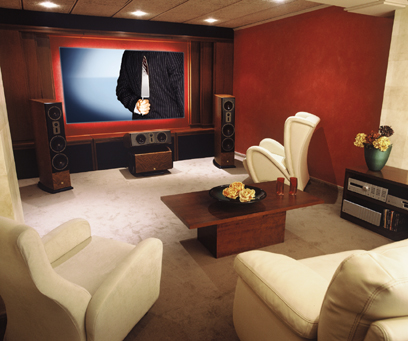 Home Office Design Ideas on Home Theater Design Ideas   Interior Design