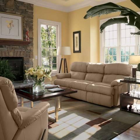 How to Decorate a Big Living Room - Interior design