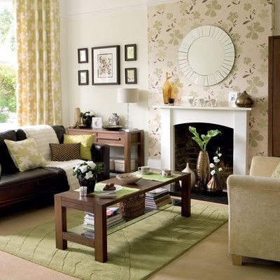 Burgandy Area Rugs How to Decorate a Living Room with a Fireplace - Interior ...