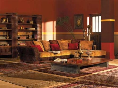 Indian Living Room Interior DesignInterior design