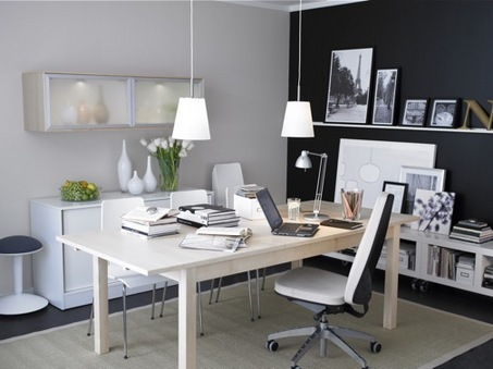 Interior design for home office Interior design