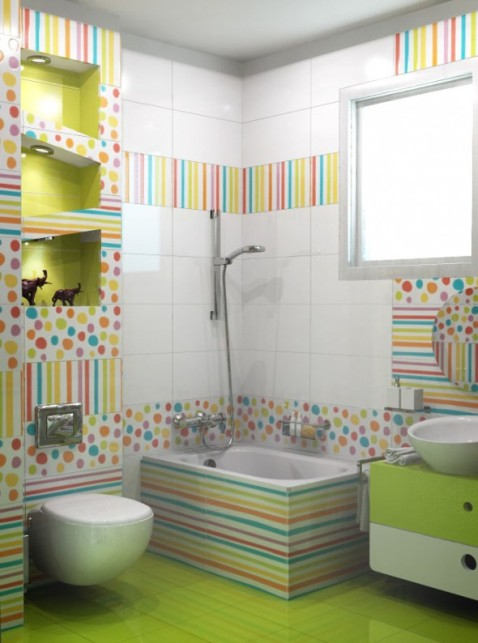Kids' Bathroom Decorating Ideas - Interior design