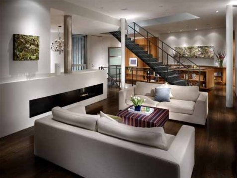 modern cottage interior design