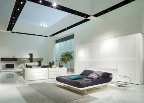 modern interior design for bedrooms