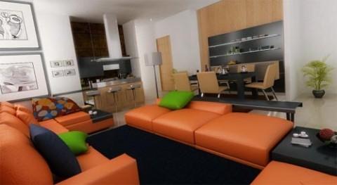 modern interior design for small spaces